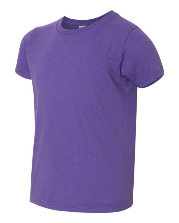bulk custom shirts american apparel 2201w custom youth t-shirt purple