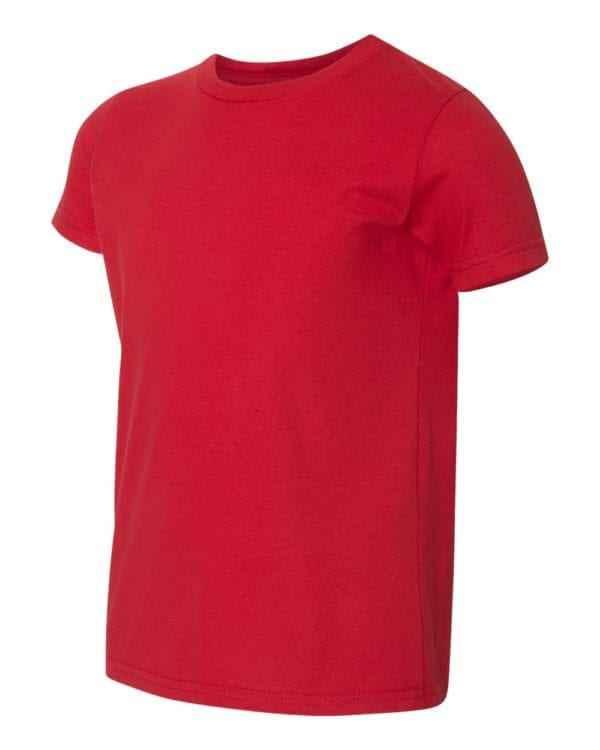 bulk custom shirts american apparel 2201w custom youth t-shirt red