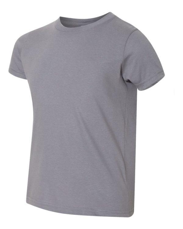 bulk custom shirts american apparel 2201w custom youth t-shirt slate