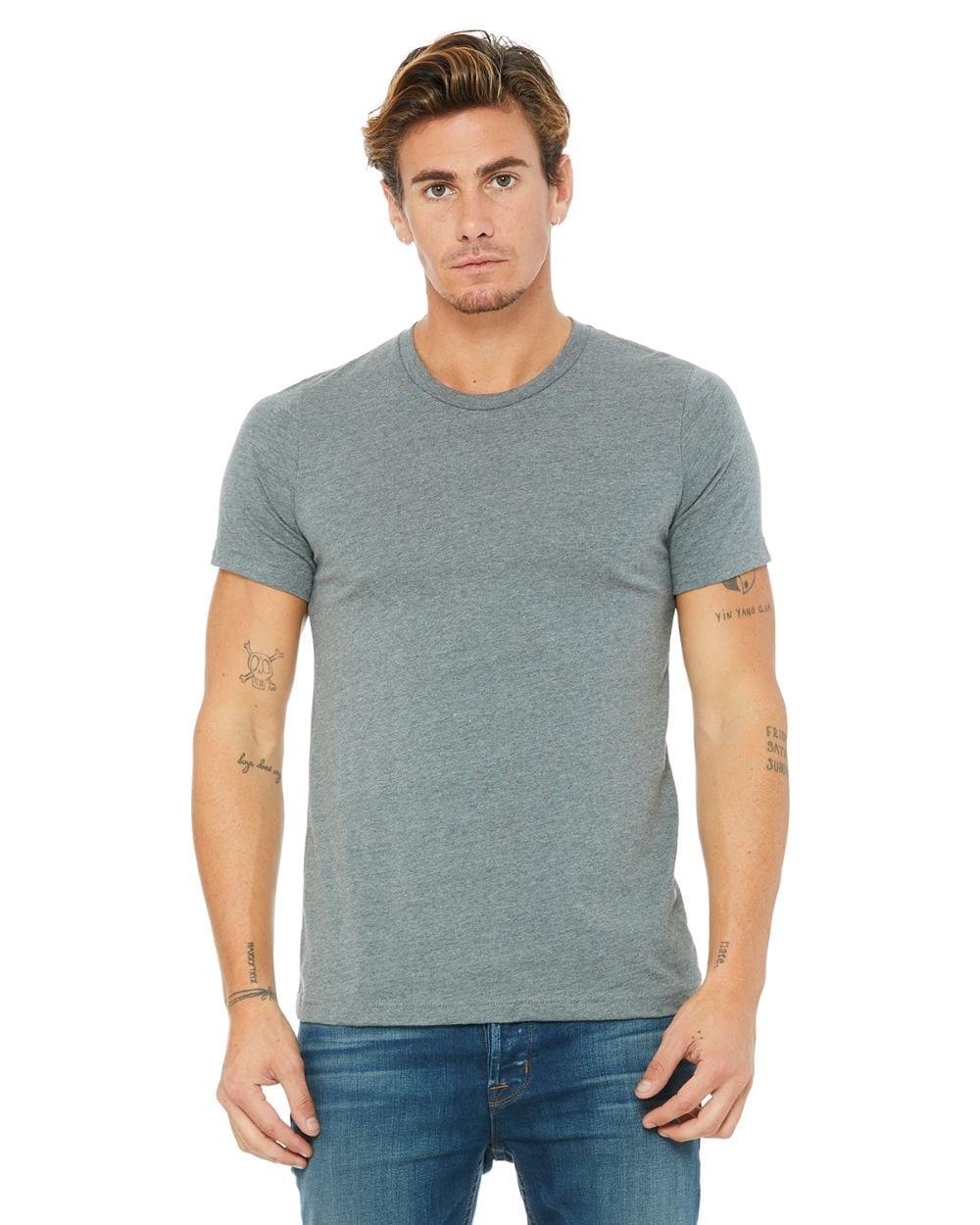 Bella and Canvas Unisex Jersey Short Sleeve Soft T Shirts 3001C 3001CVC