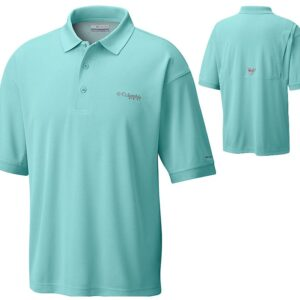 bulk custom shirts colmbia 6016 perfect cast custom pfg polo business work clothes gulf stream cover