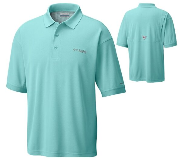 bulk custom shirts colmbia 6016 perfect cast custom pfg polo business work clothes gulf stream cover