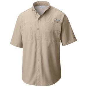 bulk custom shirts columbia 7266 men's custom personalize tamiami II short sleeve shirt fossil