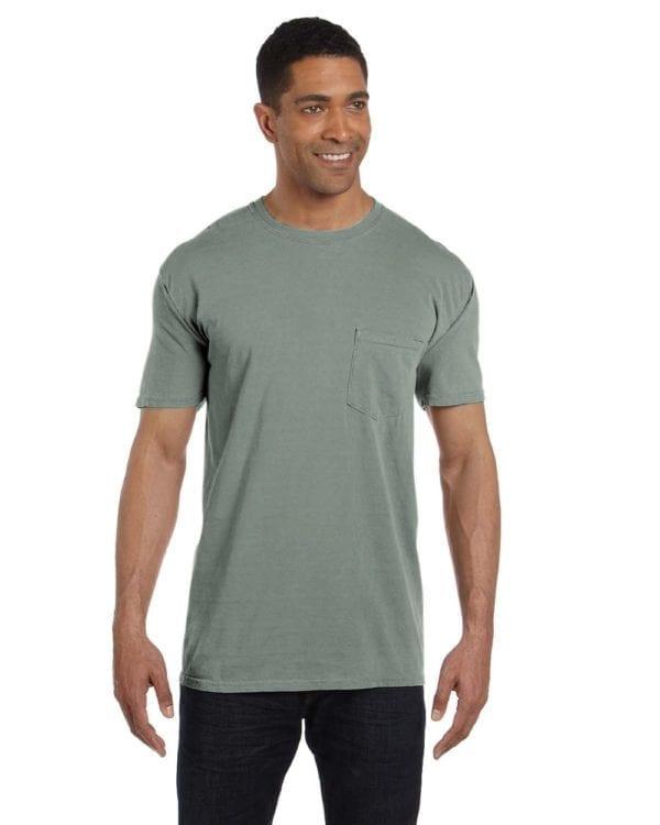 bulk custom shirts comfort colors 6030cc heavyweight rs custom pocket t shirt bay