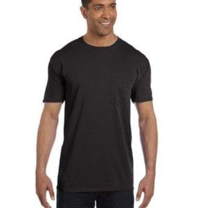 bulk custom shirts comfort colors 6030cc heavyweight rs custom pocket t shirt black