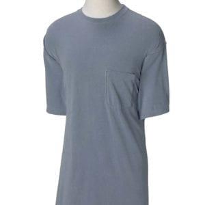 bulk custom shirts comfort colors 6030cc heavyweight rs custom pocket t shirt blue jean