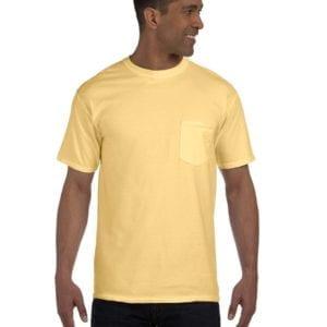 bulk custom shirts comfort colors 6030cc heavyweight rs custom pocket t shirt butter