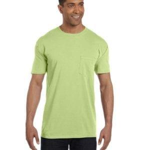 bulk custom shirts comfort colors 6030cc heavyweight rs custom pocket t shirt celedon