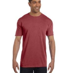 bulk custom shirts comfort colors 6030cc heavyweight rs custom pocket t shirt chili pepper