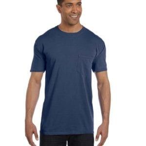 bulk custom shirts comfort colors 6030cc heavyweight rs custom pocket t shirt china blue