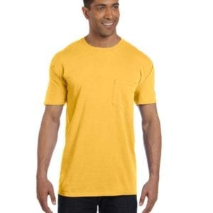 bulk custom shirts comfort colors 6030cc heavyweight rs custom pocket t shirt citrus