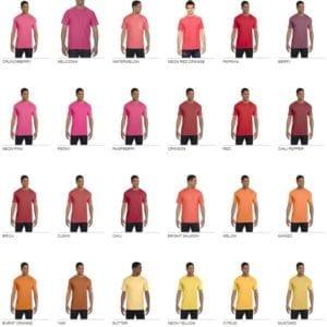 bulk custom shirts comfort colors 6030cc heavyweight rs custom pocket t shirt color2