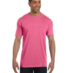 bulk custom shirts comfort colors 6030cc heavyweight rs custom pocket t shirt crunchberry