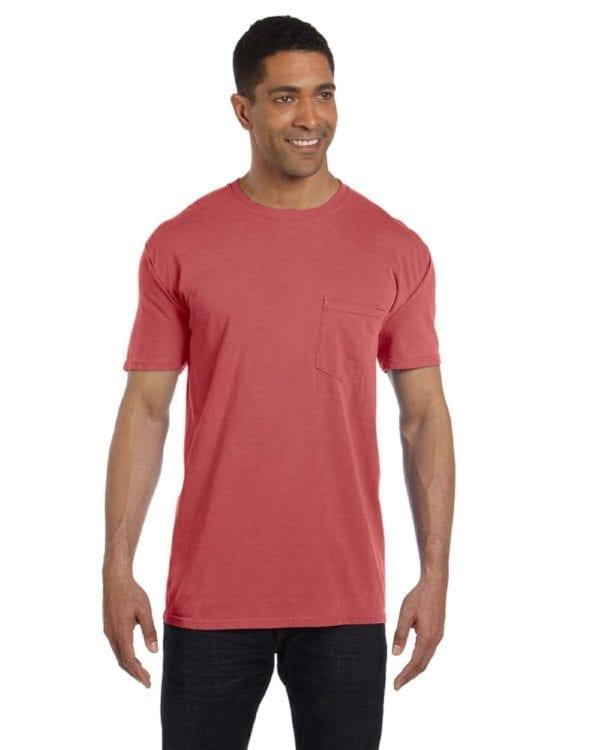 bulk custom shirts comfort colors 6030cc heavyweight rs custom pocket t shirt cumin