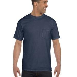 bulk custom shirts comfort colors 6030cc heavyweight rs custom pocket t shirt denim