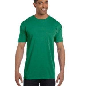 bulk custom shirts comfort colors 6030cc heavyweight rs custom pocket t shirt grass