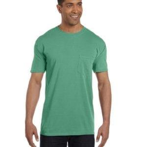 bulk custom shirts comfort colors 6030cc heavyweight rs custom pocket t shirt island green