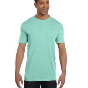 bulk custom shirts comfort colors 6030cc heavyweight rs custom pocket t shirt island reed