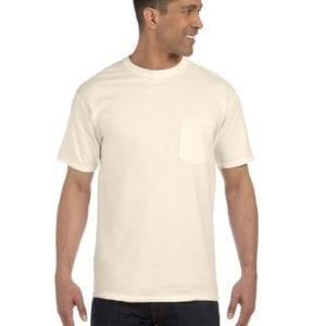 bulk custom shirts comfort colors 6030cc heavyweight rs custom pocket t shirt ivory