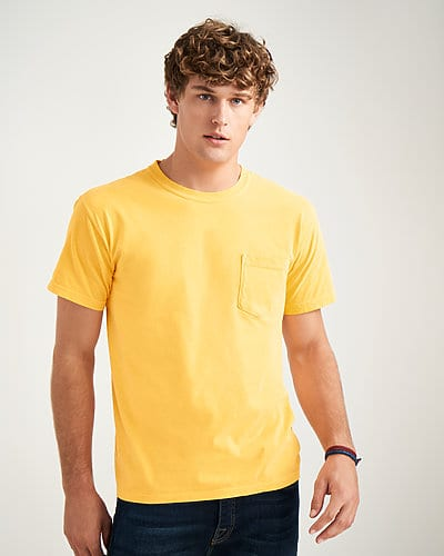 bulk custom shirts comfort colors 6030cc heavyweight rs custom pocket t shirt main