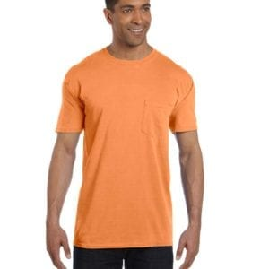 bulk custom shirts comfort colors 6030cc heavyweight rs custom pocket t shirt mango