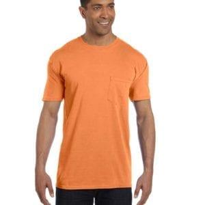 bulk custom shirts comfort colors 6030cc heavyweight rs custom pocket t shirt melon