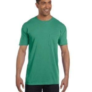 bulk custom shirts comfort colors 6030cc heavyweight rs custom pocket t shirt neon green