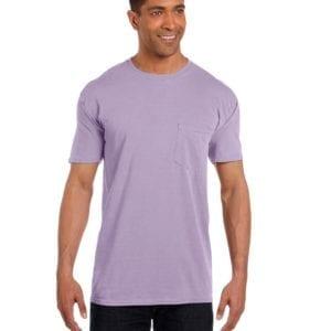 bulk custom shirts comfort colors 6030cc heavyweight rs custom pocket t shirt orchid