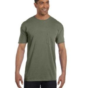 bulk custom shirts comfort colors 6030cc heavyweight rs custom pocket t shirt sage