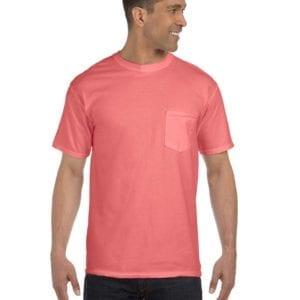 bulk custom shirts comfort colors 6030cc heavyweight rs custom pocket t shirt watermelon