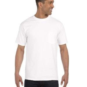 bulk custom shirts comfort colors 6030cc heavyweight rs custom pocket t shirt white