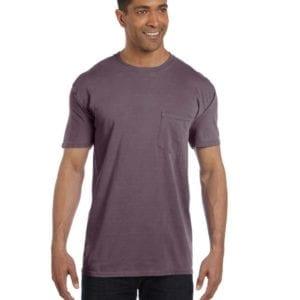 bulk custom shirts comfort colors 6030cc heavyweight rs custom pocket t shirt wine
