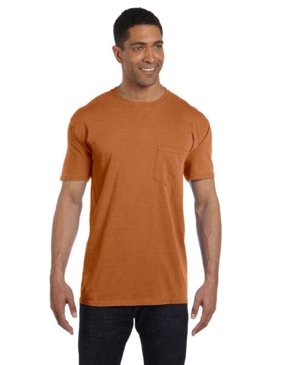 bulk custom shirts comfort colors 6030cc heavyweight rs custom pocket t shirt yam
