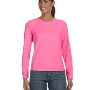 bulk custom shirts comfort colors c3014 custom ladies long sleeve shirt raspberry
