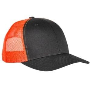 bulk custom shirts - custom hats yupoong 6606 custom retro trucker snapback cap chrcl neon green