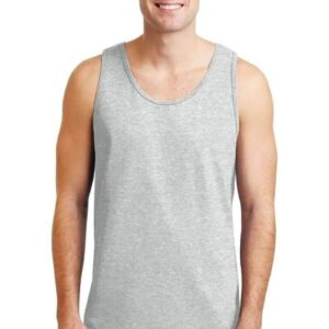 bulk custom shirts gildan g220 adult ultra cotton 6 oz personlized custom tank top ash grey
