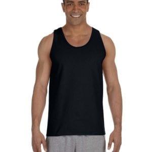 bulk custom shirts gildan g220 adult ultra cotton 6 oz personlized custom tank top black
