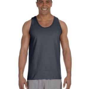 bulk custom shirts gildan g220 adult ultra cotton 6 oz personlized custom tank top charcoal