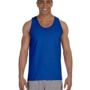 bulk custom shirts gildan g220 adult ultra cotton 6 oz personlized custom tank top royal