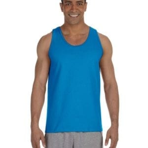 bulk custom shirts gildan g220 adult ultra cotton 6 oz personlized custom tank top sapphire