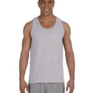 bulk custom shirts gildan g220 adult ultra cotton 6 oz personlized custom tank top sport grey