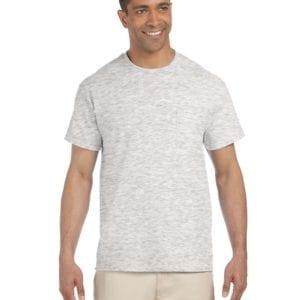 bulk custom shirts gildan g230 ultra cotton custom pocket t-shirt ash grey