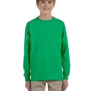 bulk custom shirts - gildan-g240b-irish-green