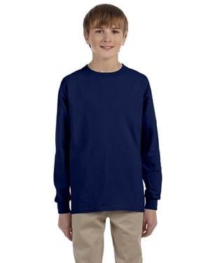 bulk custom shirts - gildan-g240b-navy