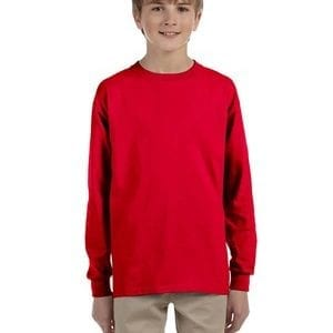 bulk custom shirts - gildan-g240b-red