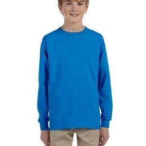bulk custom shirts - gildan-g240b-sapphire