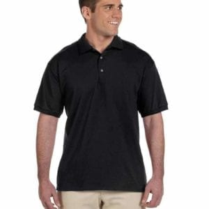bulk custom shirts gildan g280 ultra cotton 6oz custom polo black