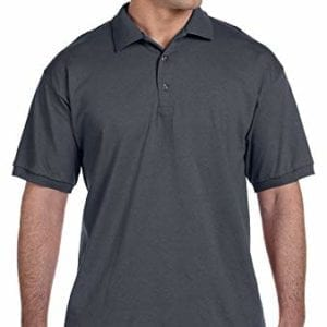 bulk custom shirts gildan g280 ultra cotton 6oz custom polo charcoal