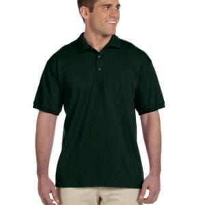 bulk custom shirts gildan g280 ultra cotton 6oz custom polo forest green