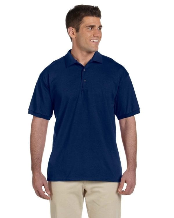 bulk custom shirts gildan g280 ultra cotton 6oz custom polo navy